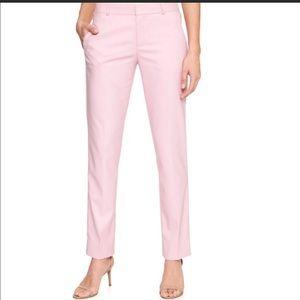 Banana Republic Pink Rose Ryan Fit Pants